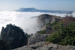 Mountains of Crimea Royalty Free Stock Images