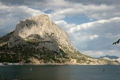 Mountains on Crimea coast Stock Photos