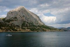Mountains on Crimea coast Stock Photo