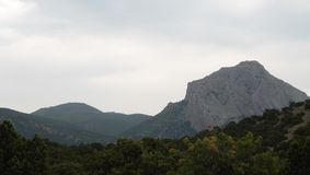 Mountains in Crimea Royalty Free Stock Photography