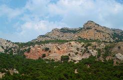 Mountains of Crimea Royalty Free Stock Photos
