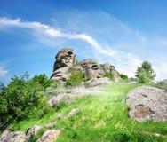 Mountains of Crimea Stock Image