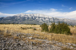 Mountains in Croatia Stock Images