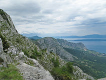 Mountains in Croatia - Biokovo Stock Images
