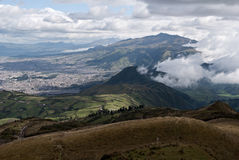Mountains in Quito, Ecuador Stock Photos