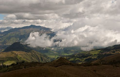 Mountains in Quito, Ecuador Stock Image