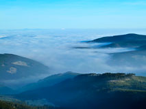 In the mountains of the Czech Republic Stock Photos