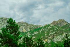 Mountains De Cantabrie Spaine photos libres de droits
