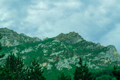 Mountains De Cantabrie. Spaine. Stock Images