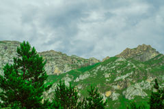 Mountains De Cantabrie. Spaine. Royalty Free Stock Photos