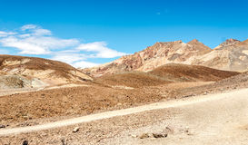 Mountains in Death Valley Royalty Free Stock Image