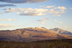 Mountains in Death Valley National Park Stock Photo