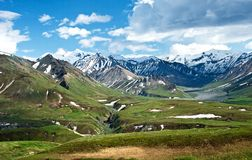 Mountains of Denali Stock Images