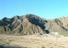 Mountains in the desert Stock Photography