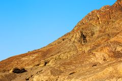 Mountains in the Desert of Negev, Israel Royalty Free Stock Images