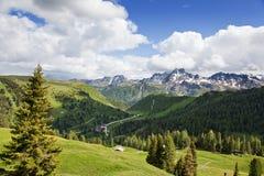 Mountains dolomite Royalty Free Stock Photo