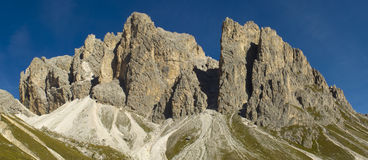 Mountains in dolomite Stock Image