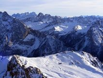 Mountains in Dolomites Royalty Free Stock Photo