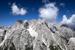 Mountains of the Dolomites Stock Image