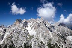 Mountains of the Dolomites Stock Image