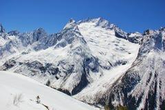 mountains of dombai Royalty Free Stock Photo