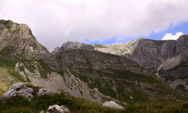 Mountains in Durmitor National Park, Montenegro Royalty Free Stock Photography