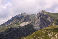 Mountains in Durmitor National Park, Montenegro royalty free stock photo