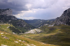 Mountains in Durmitor National Park, Montenegro royalty free stock photos