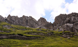 Mountains in Durmitor National Park, Montenegro Royalty Free Stock Images