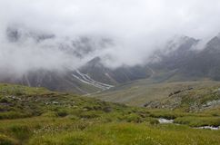 Mountains of the eastern Sayan. Stock Photos
