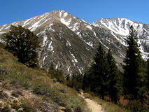 Mountains in the Eastern Sierra. California Royalty Free Stock Photography