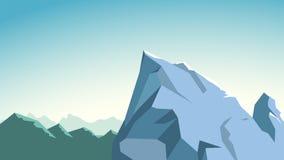 Mountains edge 01 Stock Photos