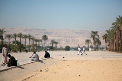 Mountains in Egypt Stock Photography