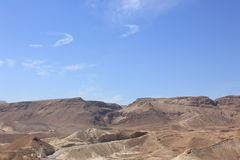 Mountains in Ein Gedi. Beautiful mountains in the desert Negev in Israel Royalty Free Stock Photos