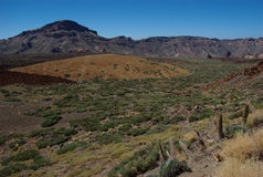 Mountains by El Teide 5 Stock Images