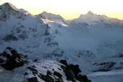 Mountains Elbrus area Royalty Free Stock Photo