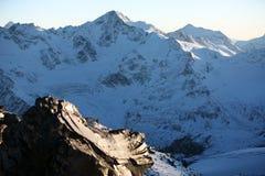 Mountains Elbrus area Stock Photo
