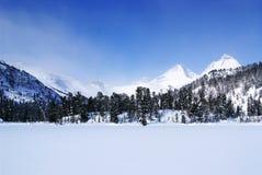 Mountains. Ergaky. Royalty Free Stock Image