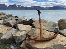 North Iceland and Eyjafjordur fjord.