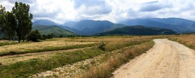 Mountains. Fagaras Mountains in Romania Royalty Free Stock Images