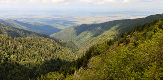 Mountains. Fagaras Mountains in Romania Royalty Free Stock Photo