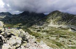 Mountains. Fagaras Mountains in Romania Stock Image
