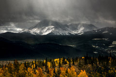 Mountains at fall Stock Image
