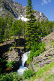 Mountains, Falls and Pines in the American West Stock Photo