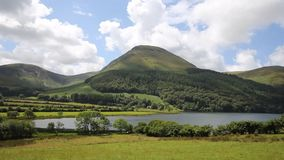 Mountains and fells at Loweswater Lake District Cumbria uk stock video