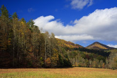 Mountains and Fields Royalty Free Stock Photos
