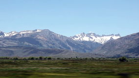 Mountains And Fields Of Eastern Sierra Nevada California