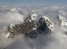 Mountains of Fiordland Stock Images