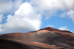 Mountains of fire, Timanfaya Royalty Free Stock Image
