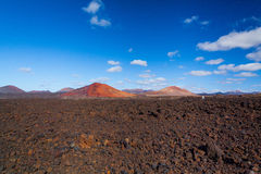 Mountains of fire Timanfaya Stock Photo